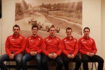 RACB National Team: Club van vijf klaar om te schitteren