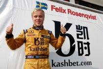 Macau F3: Kwalificatie: Felix Rosenqvist start kwalificatierace van op de pole