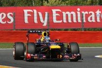 Spa: Vettel al bovenaan op eerste dag