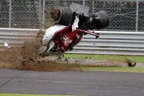 Italië: Ferrari voert aan – Zware crash voor Ericcson