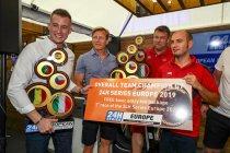 Europa-kampioenen gehuldigd bij Hankook 24H BARCELONA