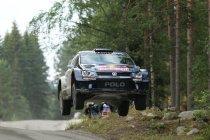 Rally van Finland: Ogier eerste leider