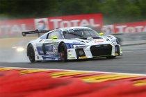 24H Spa: Audi bezet volledige top vier - Brandje bij Ferrari