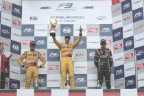 FIA F3: Nürburgring: race 2: Antonio Giovinazzi profiteert van opgave Max Verstappen