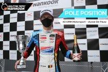 Mettet: Ulysse De Pauw en DRM Motorsport op pole