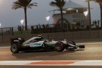 Abu Dhabi: Zege Hamilton houdt Rosberg niet van titel