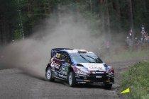 Rally Finland: Neuville en Ogier leiden ex aequo na drie KP's