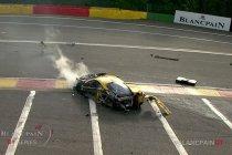 24H Spa: Zware crash voor AF Corse Ferrari #50