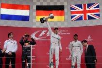 Japan: Rosberg wint - Verstappen klopt Hamilton - Mercedes pakt titel