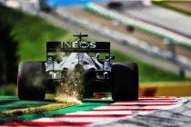Bottas sneller dan zijn teamgenoot, Vettel pas elfde