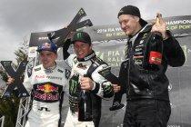 Portugal: Petter Solberg eerste leider, maar rijdt de kantjes eraf