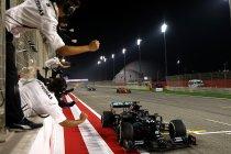 Bahrein: Hamilton wint na horrorcrash van Grosjean