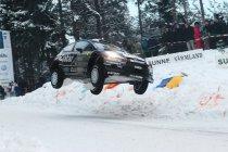 Rally van Zweden: Dag 3: Fransen Ogier en Loeb dicteren nog steeds de wet na de eerste lus
