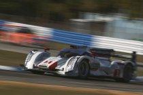 12H Sebring: Audi zet zoals verwacht beide wagens op de eerste startrij