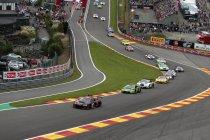 24H Spa: Na 1H: Ferrari op kop - Mercedes beperkt schade