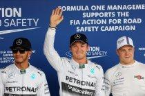 Verenigde Staten: Rosberg pakt comfortabel de pole