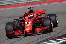 Verenigde Staten: Ferrari boven in laatste vrije training