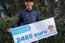 Bert Longin en BV's halen 2.485 euro op voor Rode Neuzen Dag