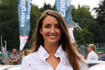 Angélique Detavernier aan de start in SRX Cup op de Duivelsberg