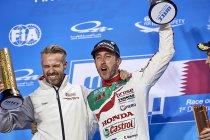 Tiago Monteiro (Boutsen Ginion) en Esteban Guerrieri (Münnich Motorsport) verdedigen Honda-kleuren in WTCR