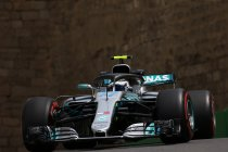 Azerbeidzjan: VT1: Bottas snelste – Verstappen in de muur
