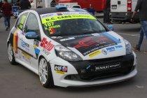 Clio Cup BNL: Zolder: Romain Degeer is Belgisch kampioen Clio Cup
