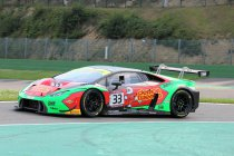 Spa: Bentley en Lamborghini op pole