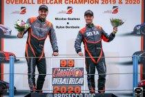 Tweede opeenvolgende Belgische titel voor Dylan Derdaele en Nicolas Saelens