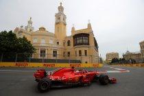 Azerbeidzjan: Vettel snelste in laatste vrije training