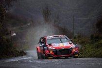 Sanremo: Neuville leidt in WRC-deel Sanremo
