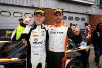 Brands Hatch: Ginetta onklopbaar – Top 10 plaats voor Vandenbalck/Dejonghe