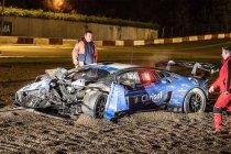 24H Zolder: Newsflash: Oliespoor nekt Chrisal Lamborghini
