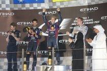 Abu Dhabi: Vettel voor de zevende maal op rij