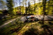 WRC: Evans pakt de kop in slot Kroatië