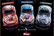 24H Spa: Black Falcon goes manga!