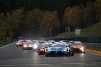24H Spa: Na 3H: Driestrijd tussen Lamborghini, Mercedes en Porsche