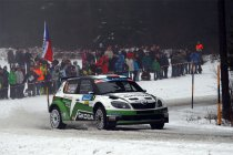 Jänner Rallye: Jan Kopecky sluit dag een af als leider