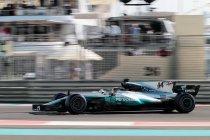 Abu Dhabi: Mercedes 1-2 in laatste vrije training van 2017