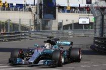 Monaco: VT1: Hamilton snelst – Vandoorne P12