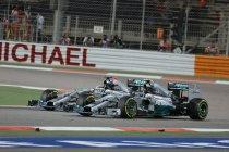 Bahrein: Hamilton wint schitterend duel met Rosberg - Maldonado bestraft