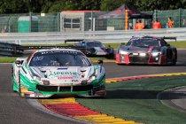 24H Spa: Na 4H: Kaspersky Motorsport Ferrari behoudt de leiding
