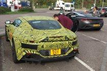 Op weg naar Spanje spotten we Aston Martin prototypes...