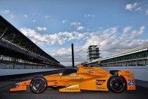 McLaren-Honda stelt Indy 500-bolide van Alonso voor