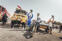 Eindzeges voor Botturi en familie Martin in Africa Eco Race