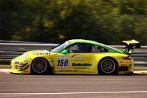 24H Spa: Na 3H: Porsche neemt leiding over - Menten zet Blancpain Lambo in de muur