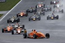Formule ADAC: Sachsenring: Picariello verliest zekere zege na drive-through penalty