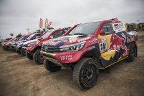 Klein oplawaai voor favoriet Peugeot op openingsdag