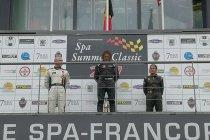 Belgian Historic Cup met 65 wagens tijdens Spa Summer Classic