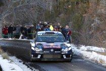 Rallye Monte Carlo: Sébastien Ogier leidt de dans