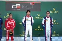 Silverstone: Piquet en Alesi op het podium